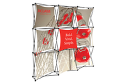 Xclaim 8' Fabric Popup Display Kit 01