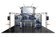 Altas Orbital Express 20 x 20 Truss Display