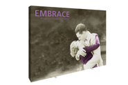 Embrace 10 Ft Full Height Push-Fit Tension Fabric Display