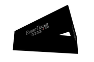 Triangle Hanging SIgn Black