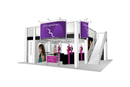 Double Deck Trade Show Display - 4