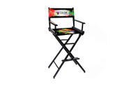 30'h Director Chair w/ Printed Canvas