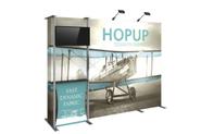 Hopup 10ft Fabric Display Kit 3