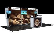Keurig Modular Display 10x20 Kit3