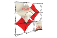 Xclaim 8' Fabric Popup Display Kit 02