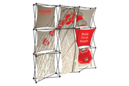 Xclaim 8' Fabric Popup Display Kit 05