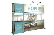Hopup 10ft Tension Fabric Display Kit 4