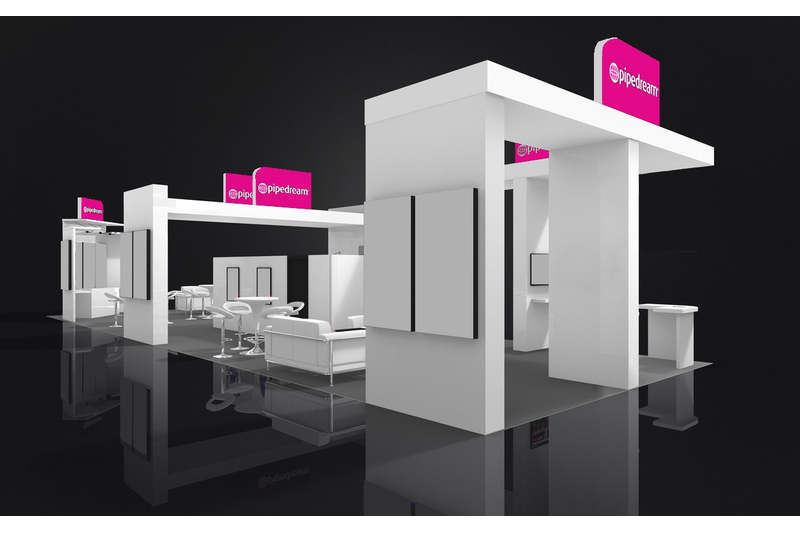 2015 trade show exhibit in Excellent Condition For Sale