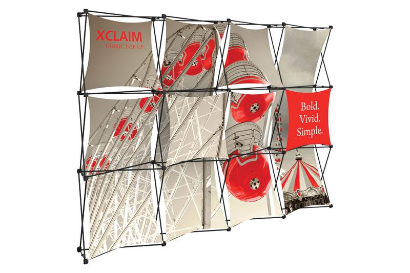Xclaim 10' Fabric Popup Display Kit 04