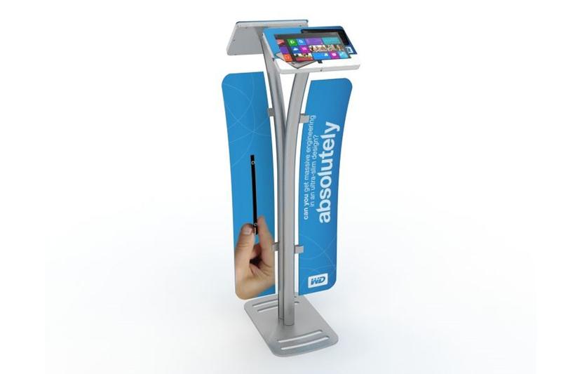MOD-1334 Portable iPad Kiosk