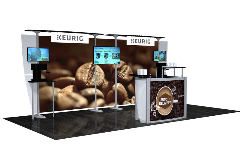 RE-Keurig Modular Display 10x20 Kit3