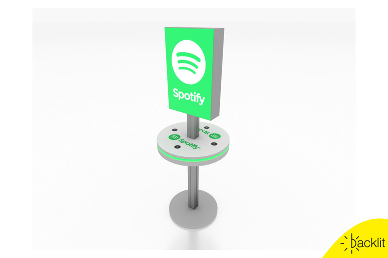 MOD-1475 Lightbox Charging Stand