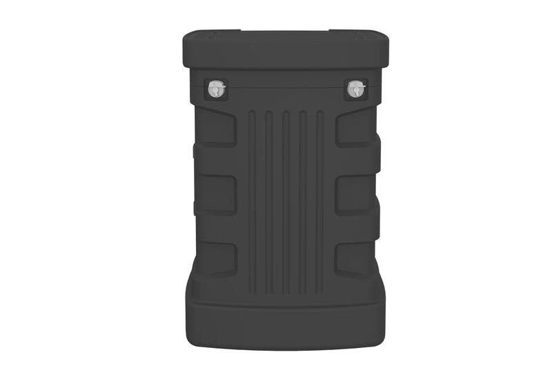 "OCX Standard Wheeled Display Case 26.73""w x 39.49""h x 17.05""d"