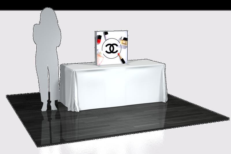 Vector Frame 3 x 3 ft.Table Top Lightbox