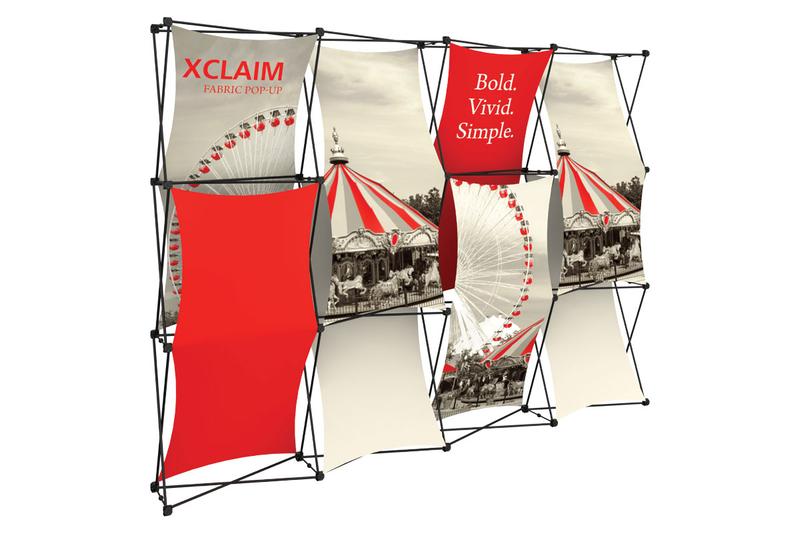 Xclaim 10' Fabric Popup Display Kit 03