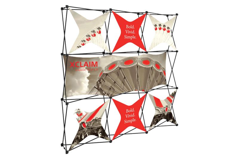 Xclaim 8' Fabric Popup Display Kit 06