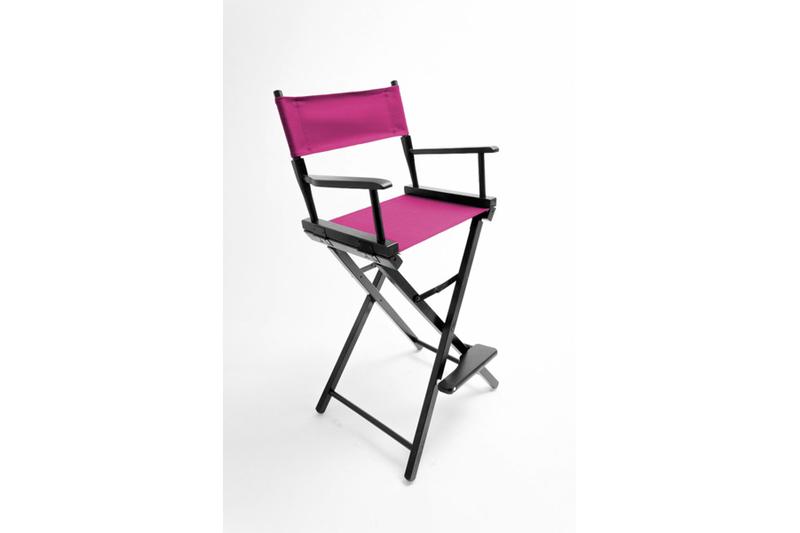 30'h Director Chair Frame w/ Unprinted Canvas