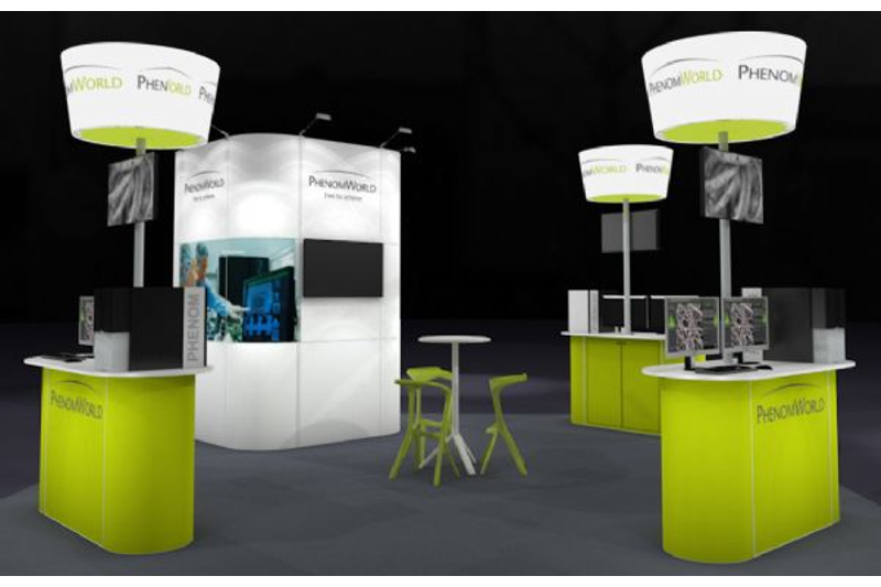 2015 Laarhoven Delta Matrix Trade Show Booth in Excellent Condition For Sale
