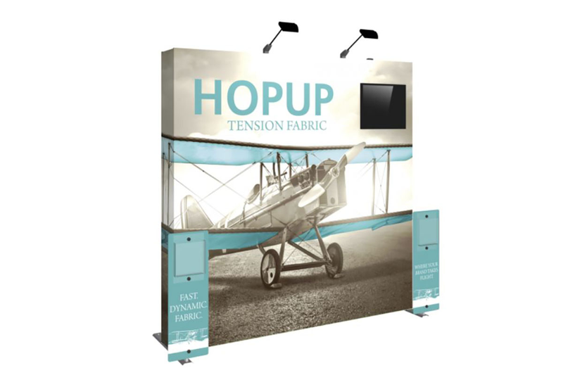 Hopup 8ft Fabric Display Kit 1