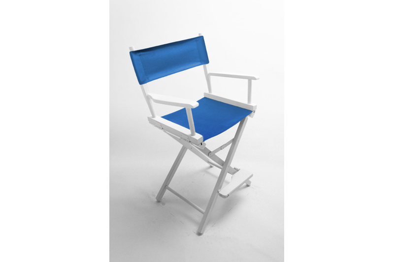 17'h Director Chair Frame w/ Unprinted Canvas